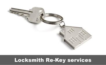 Re key Locksmith Services