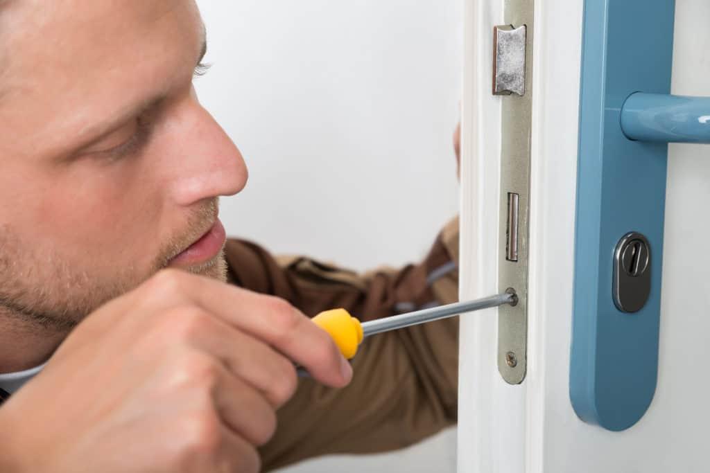 use a locksmith service